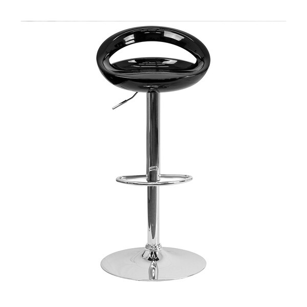 Shop Offex Contemporary Black Plastic Adjustable Height